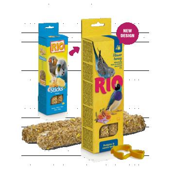 Rio maiusepulgad meega viirpapagoidele ja eksootilistele lindudele 2x40g