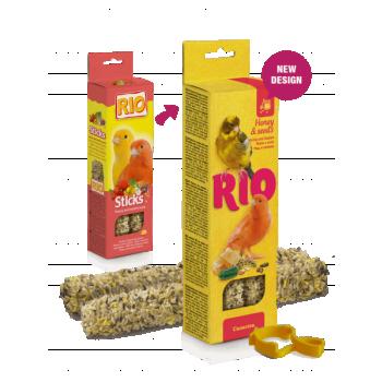 Rio maiusepulgad mee ja seemnetega kanaarilindudele 2x40g
