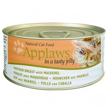 Applaws kassi konserv zelees kana/makrell 70g N1