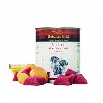 Hubertus Gold® Veiseliha kartuliga + linaseemneõli 800g