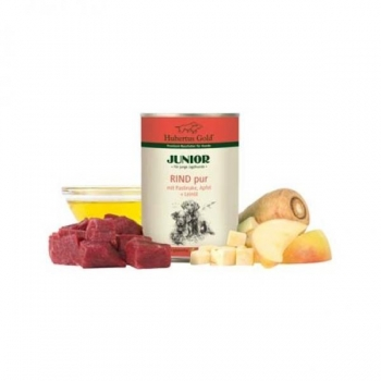 Hubertus Gold® Junior Beef pure with Parsnip and Apples