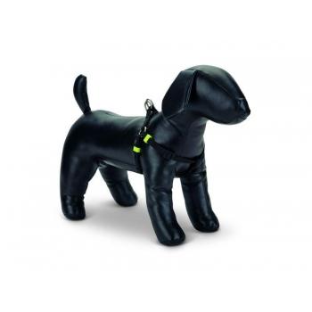 Beeztees koera traksid seljakinnitusega nailonist uni must 35-60x1cm