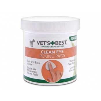 Vets Best koera/kassi silmapuhastuslapid näpule N100