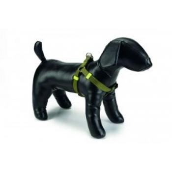 Beeztees koera traksid nailon seljakinnitus roheline 35-60cmx15mm