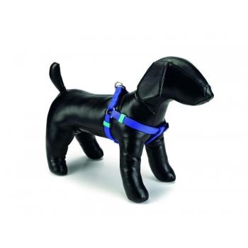 Beeztees koera traksid nailon seljakinnitus sinine 46-75cmx20mm