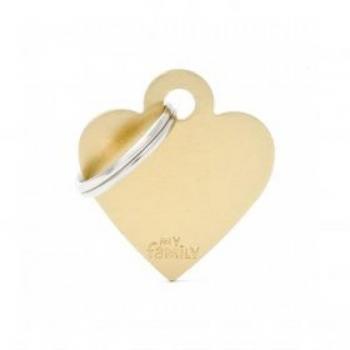 My Family ripats Basic süda väike kuldne /MFB73/