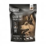 PrimaDog GRAIN FREE täistoit hirveliha-kalkuni kõikidele täiskasvanud koertele 1,5kg