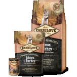 Carni Love kuivtoit suurt tõugu kutsikale lõhe&kalkunilihaga 1,5kg