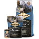 Carni Love kuivtoit täiskasvanud koerale lõhega 1,5kg