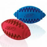 Koera mänguasi NERF Teether Football M blue/red