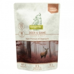 Isegrim Roots II Duoprotein 410g pouch, Hirv & uluk