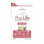 Pure Life Mini Adult Pardiliha ja Valge Kalaga 12KG