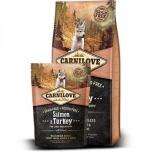Carni Love kuivtoit kutsikale Lõhe&kalkunilihaga 12kg