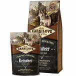 Carni Love kuivtoit täiskasvanud koerale põhjapõdralihaga 12kg