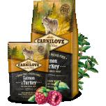 Carni Love kuivtoit suurt tõugu täiskasvanud koerale lõhe&kalkuniga 1,5 kg