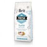 "Brit FRESH ""LB ADULT"" Kala&kõrvitsaga 2,5kg"