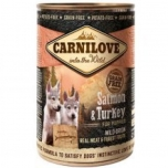 Carni Love Salmon & Turkey Pup kons 400g