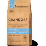 GRANDORF täistoit täiskasvanud koerale valge kala & pruuni riisiga 3kg