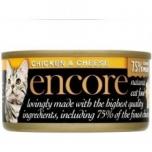 Encore kassi konserv kana/juust 70g