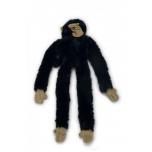 Beeztees koera mänguasi ahv pehme must 50 cm