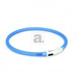 Beeztees kaelarihm Dogini LED-usb sinine