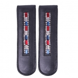 Saapa klamber Boot clip Brittany Black/red