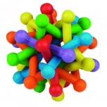 DT RUBBER SPACO ATOM COLOURFUL DIA. 9,5CM
