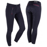 Ratsapüksid Breeches softshell Kamila anti-slip Fullseat Black 40