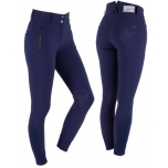 Ratsapüksid Breeches Merlijn anti-slip knee patches navy 38