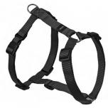 Koera H-traksid Ziggi black 25-40cm 10mm