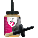 Hoof-oil Natural with brush 500ml