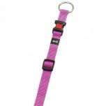 Koera kaelarihm Ziggi roosa 30-45cm 15mm
