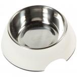 Melamiinist sööginõu koerale ROYAL RONDO valge - S