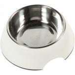 Melamiinist sööginõu koerale ROYAL RONDO valge - L