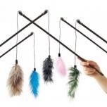 Kassi mänguasi Dangler Feather-Boa 60cm