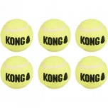 Kong koera mänguasi Squeak Air pallid Medium 6tk