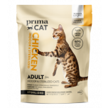PrimaCat steriliseeritud kassi täistoit Kanaga 1.4kg