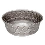 Diamond Plated Bowl L 3400 ml