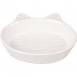 Keraamiline sööginõu kassile GIZMO valge 170ml 13CM