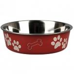 Sööginõu koerale BELLA KENA punane 21cm 1500ml
