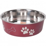Sööginõu koerale BELLA KENA punane 23cm 2200ml