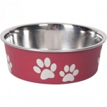 Sööginõu koerale BELLA KENA punane 12cm 300ml