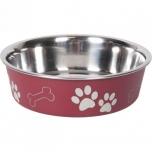 Sööginõu koerale BELLA KENA punane 17cm 800ml