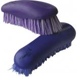 "HIPPOTONIC ""Anatomic"" dandy brush - Color : purple, Size : large model, Back : 23 x 8 cm"