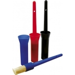 Hoof oil brush with cap - Color : black