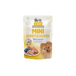 BC MINI einekotike koerale küüliku ja lõhega kastmes 85G