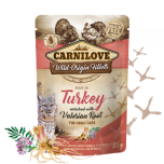 CL CAT POUCH TURKEY WITH VALERIAN 85G