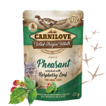CL CAT POUCH PHEASANT WITH RASPBERRY LEAVES 85G