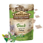 CL CAT POUCH DUCK WITH CATNIP 85G