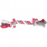 DT COTTON JIM PLAYING ROPE 2 KNOTS MULTI L 35CM